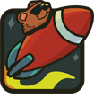 Rocket Bear Games Logo